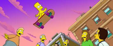 Simpsonsbartnakedskating